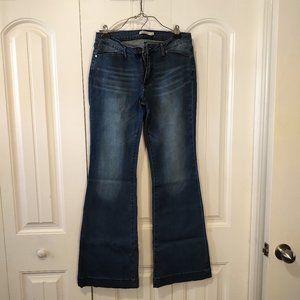 NWOT Justfab Slant Pocket Flare Jeans